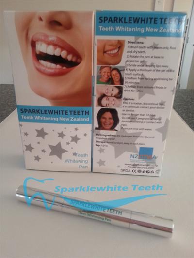 NZ's Home Teeth Whitening Pen